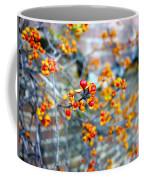 November Garden Wall Coffee Mug