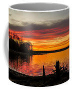 November Sunset Manasquan Reservoir Nj Coffee Mug