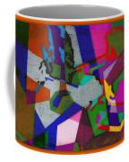Nu Wall Graffiti Horns In The Landscape Of Sound/tony Adamo Coffee Mug