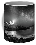 Nubble At Night Coffee Mug