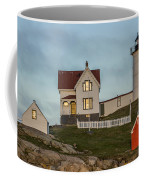 Nubble At Sunset Coffee Mug