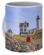 Nubble Lighthouse York Maine Coffee Mug