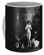 Nude And Butterflies, C1900 Coffee Mug