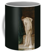 Nude Drying Herself After A Bath Coffee Mug