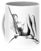 Nude Female Figure Coffee Mug