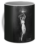 Nude Floating, 1890s Coffee Mug