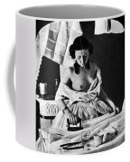 Nude Ironing, C1861 Coffee Mug