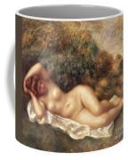 Nude Coffee Mug by Pierre Auguste Renoir