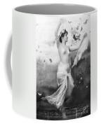 Nude With Butterflies Coffee Mug