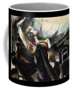 Nude With Chaps On Harley Coffee Mug