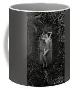 Nude Woman And Doorway Coffee Mug