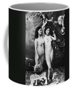 Nudes At Festival, C1900 Coffee Mug