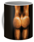 Nudist - Just Cheeky Coffee Mug by Mike Savad