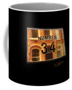 Number 34 Coffee Mug