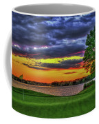 Number 4 The Landing Reynolds Plantation Golf Art Coffee Mug