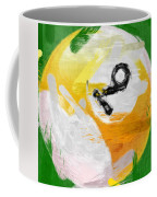 Number Nine Billiards Ball Abstract Coffee Mug