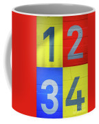 Numbers Coffee Mug