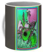Nuns On A Break Diggin' Jazz Coffee Mug