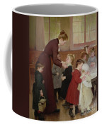 Nursery School Coffee Mug by Hneri Jules Jean Geoffroy
