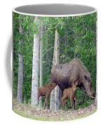 Nursing Moose Coffee Mug