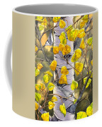 Nuthatches Coffee Mug