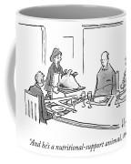 Nutritional Support Animal Coffee Mug