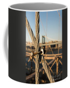 Nuts And Bolts Of The Brooklyn Bridge Coffee Mug