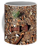Nuts And Bolts Rusted Coffee Mug