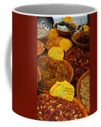 Nuts, Dried Fruits And Vegetables Coffee Mug by Anne Keiser