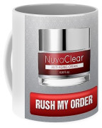 Nuvaclear Cream Coffee Mug