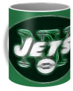 Ny Jets Fantasy Coffee Mug by Paul Ward