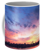 Ny Skyline Dawn Delight Coffee Mug
