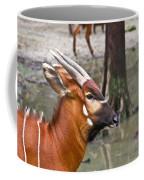 Nyala At The Watering Hole Coffee Mug