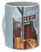 Nyc 8th Street Coffee Mug by Debbie DeWitt
