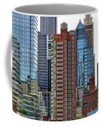 Nyc Architecture Buildings Tall  Coffee Mug