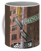Nyc Broadway 1 Coffee Mug by Debbie DeWitt