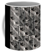 Nyc Fire Escapes Coffee Mug