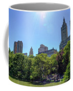 Nyc From Central Park Coffee Mug