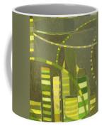 Nyc In Deep Green Coffee Mug