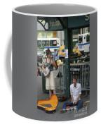 Nyc Street Musicians Banjo Coffee Mug