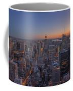 Nyc Sunset Coffee Mug