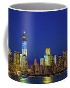 Nyc Tribute Of Lights 2012 Coffee Mug