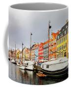 Nyhavn Harbour In Copenhagen Coffee Mug