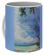 Nylon Pool Tobago. Coffee Mug by Karin  Dawn Kelshall- Best