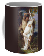 Nymph Abducted By A Faun Coffee Mug by Alexandre Cabanel