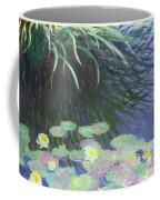 Nympheas Avec Reflets De Hautes Herbes Coffee Mug
