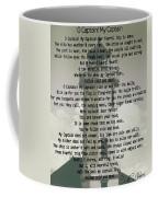 O Captain My Captain Lighthouse Coffee Mug