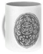 O R E O In Black Negative Coffee Mug