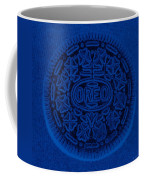 O R E O In Blue Coffee Mug