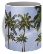 Oahu, Rainbow Coffee Mug